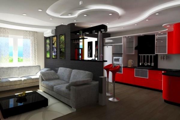Ремонт трёхкомнатной квартиры.